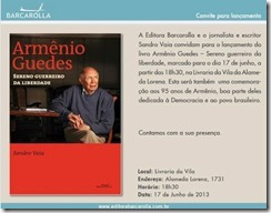 ARMÊNIO GUEDES -CONVITE S. PAULO